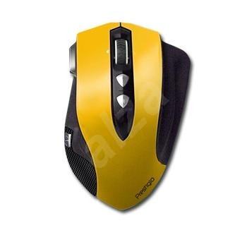 Prestigio PMSG1Y carbon žlutá - Myš