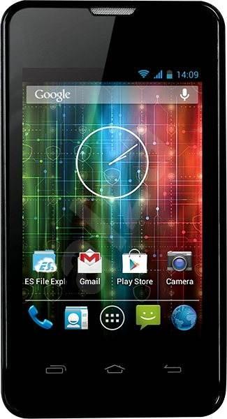 Prestigio MultiPhone 3350 DUO černý - Mobilní telefon