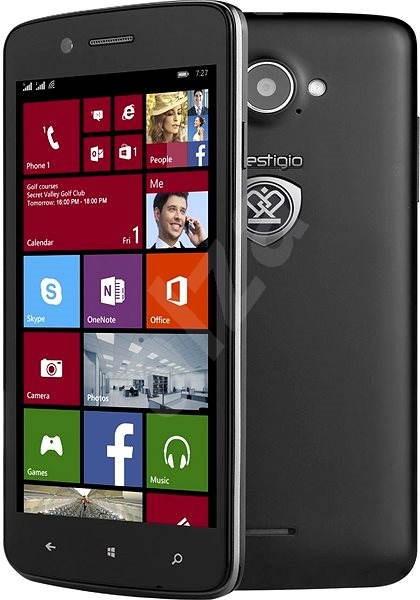 Prestigio MultiPhone 8500 DUO černý - Mobilní telefon