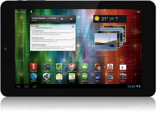 Prestigio MultiPad 4 Quantum 10.1 | PMP5101C QUAD černý - Tablet