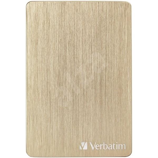VERBATIM Store´n´ Go ALU Slim 1TB, zlatý - Externí disk