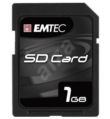 EMTEC Secure Digital 1GB High Speed 133x - Paměťová karta