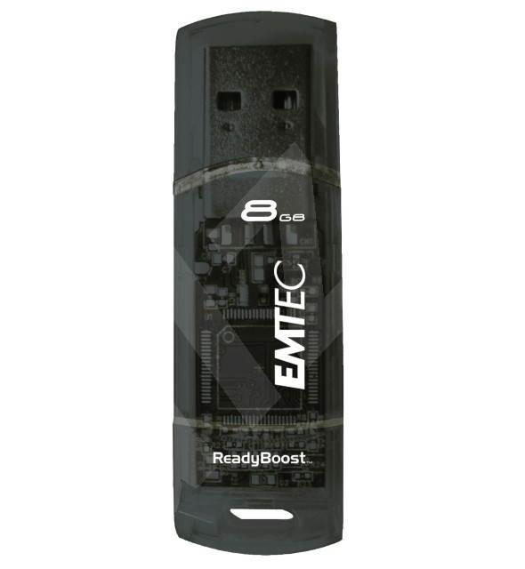 EMTEC C250 ReadyBoost FlashDrive 8GB - Flash disk