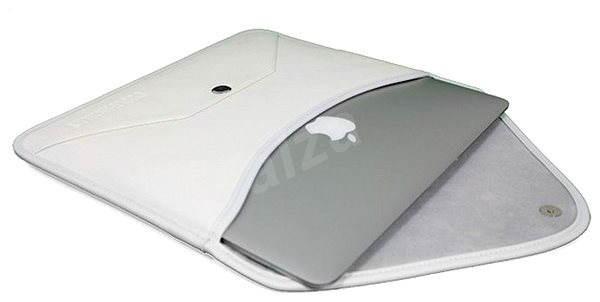 "Cool Bananas Envelope Leather pro MacBook Air 13"" bílé - Pouzdro na notebook"