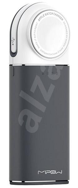 MiPow Power Tube 6000mAh pro Apple Watch - šedá - Powerbanka