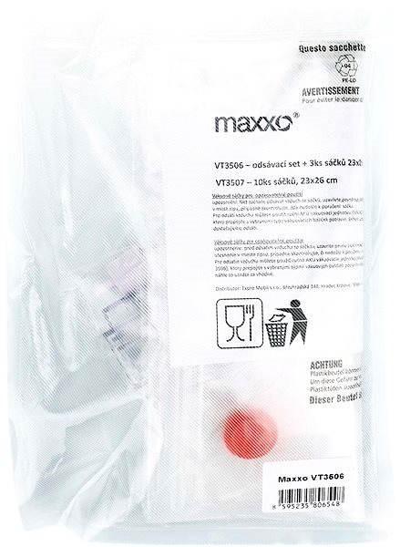 Maxxo Sada pro vakuové baličky – odsávací hadička a ZIP sáčky VT3506 - Příslušenství