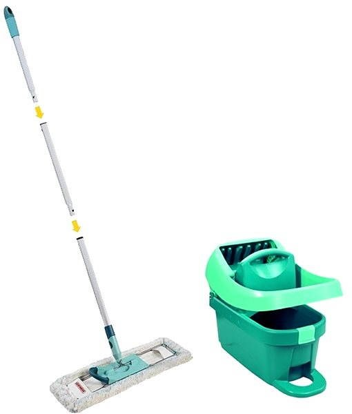 Leifheit 55077 Profi Mop + Bucket with pedal squeezing - Mop