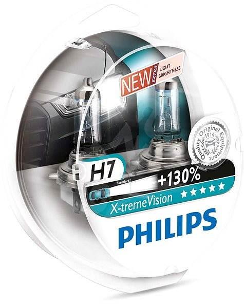 PHILIPS  H7 X-tremeVision, 55W, patice PX26d, 2 ks - Autožárovka