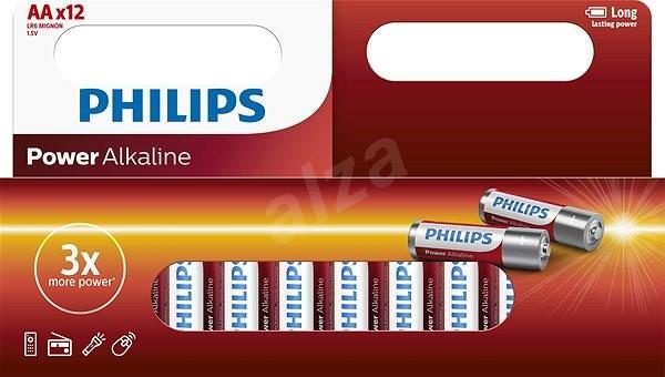 Philips LR6P12W 12ks v balení - Jednorázová baterie