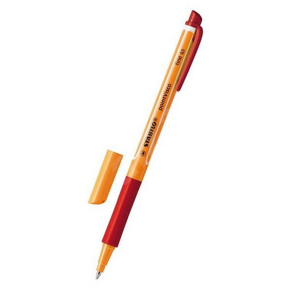 STABILO Point Visco červená - Roller