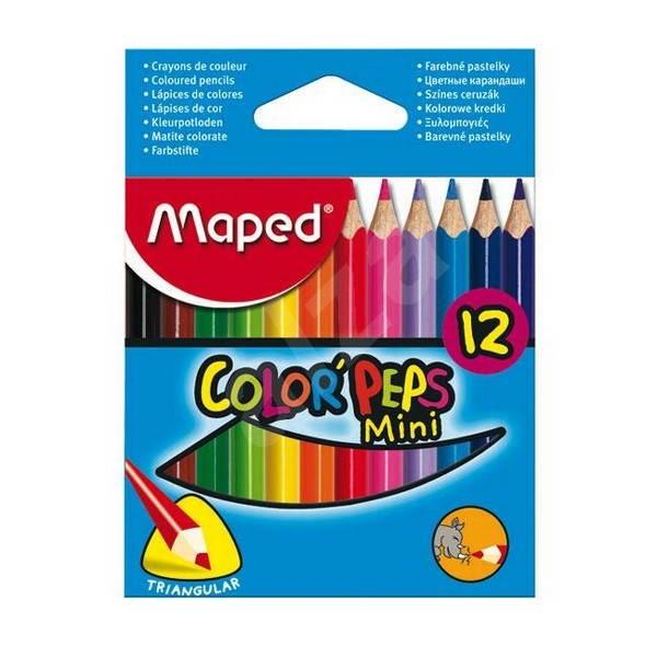 MAPED Color Peps 12 barev krátké - Pastelky