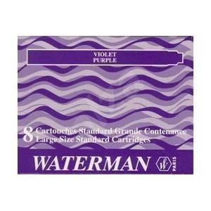 WATERMAN inkoustové fialové - Bombičky