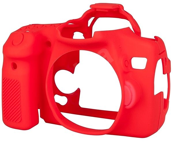 Easy Cover Reflex Silic pro Canon 70D červené - Pouzdro na fotoaparát
