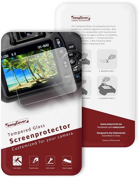 Easy Cover ochranné sklo na displej Nikon D5500 - Ochranné sklo