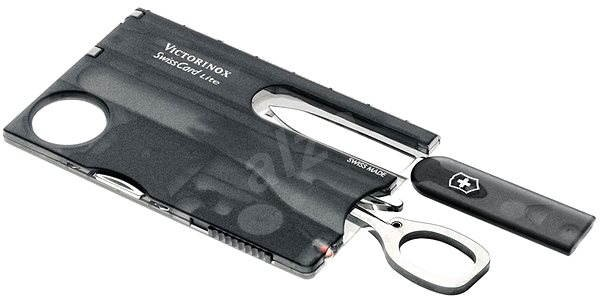 Victorinox Swiss Card Lite Translucent černý - Multitool