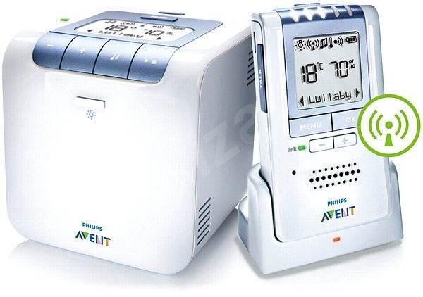 Philips AVENT SCD535 Dect - Dětská chůvička