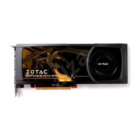 ZOTAC GeForce GTX570 1.28GB DDR5 AMP! Edition - Grafická karta