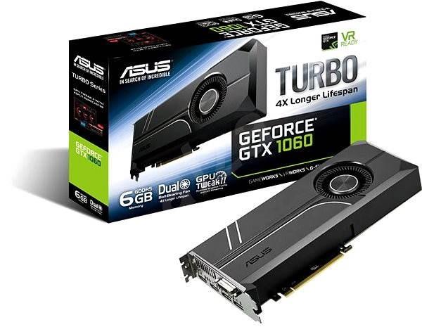 ASUS TURBO GeForce GTX 1060 6GB - Grafická karta