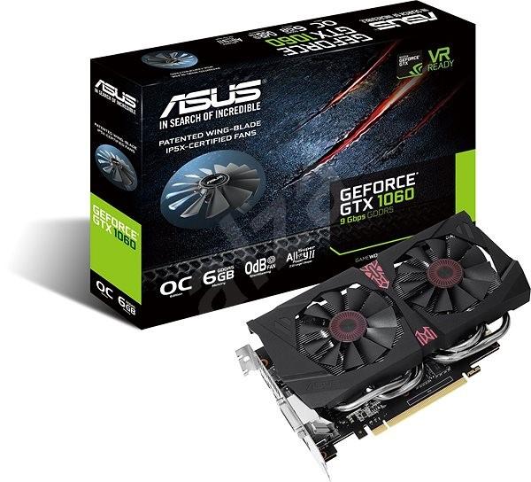 ASUS GeForce GTX 1060 O6G 9GBPS - Grafická karta