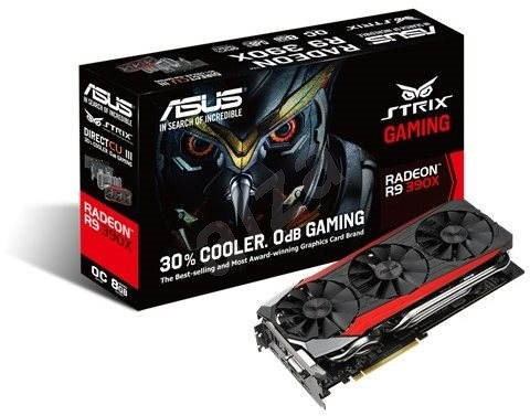 ASUS STRIX R9 390X 8GB Gaming - Grafická karta