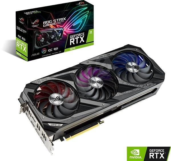 ASUS GeForce ROG STRIX RTX 3070 GAMING O8G - Grafická karta