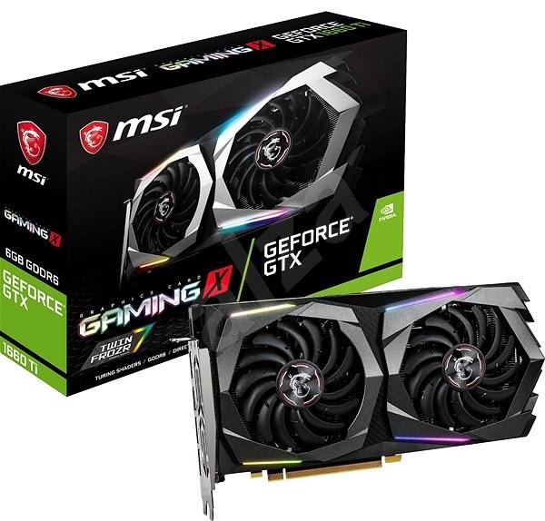 MSI GeForce GTX 1660 Ti GAMING X 6G - Grafická karta