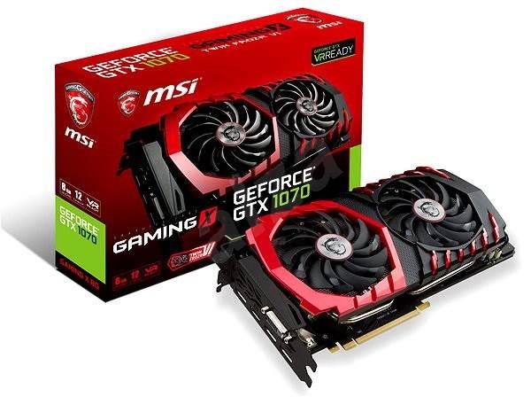 MSI GeForce GTX 1070 GAMING X 8G - Grafická karta