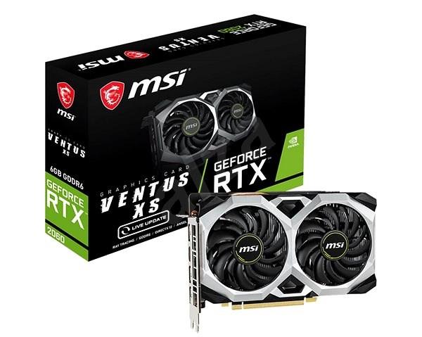 MSI GeForce RTX 2060 VENTUS XS 6G - Grafická karta