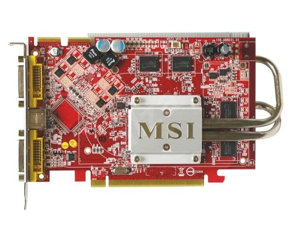 MICROSTAR RX1650XT-T2D256EZ - Grafická karta