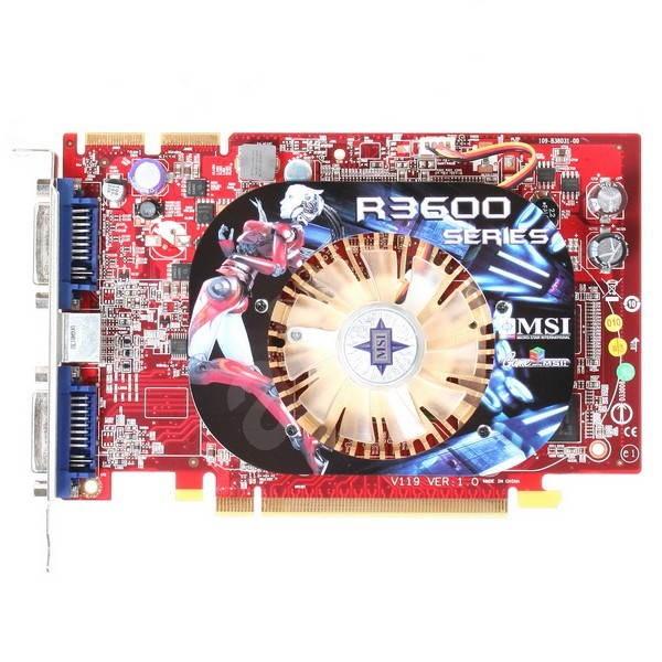 MSI R3650-MD512-OC - Grafická karta