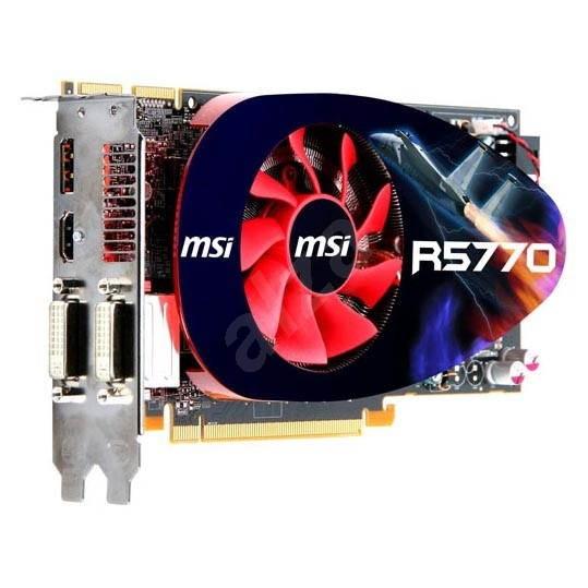 MSI R5770-PM2D1G-OC/SEAWEED - Grafická karta