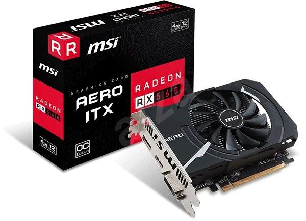 MSI Radeon RX 560 AERO ITX 4G OC - Grafická karta