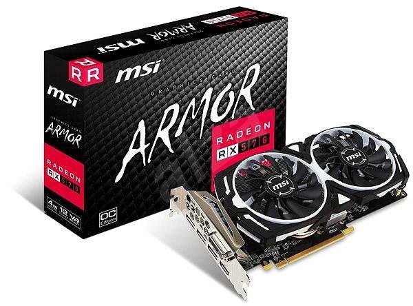 MSI Radeon RX 570 ARMOR 4G OC - Grafická karta