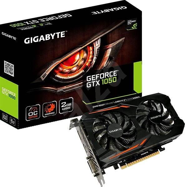 GIGABYTE GeForce GTX 1050 OC 2G - Grafická karta