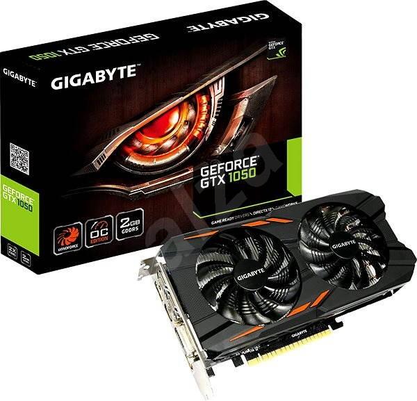 GIGABYTE GeForce GTX 1050 Windforce OC 2G - Grafická karta