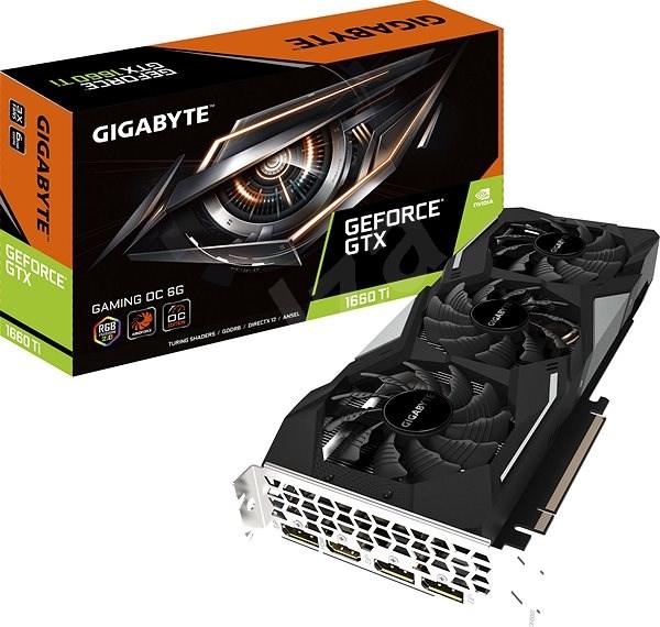 GIGABYTE GeForce GTX 1660 Ti GAMING OC 6G - Grafická karta