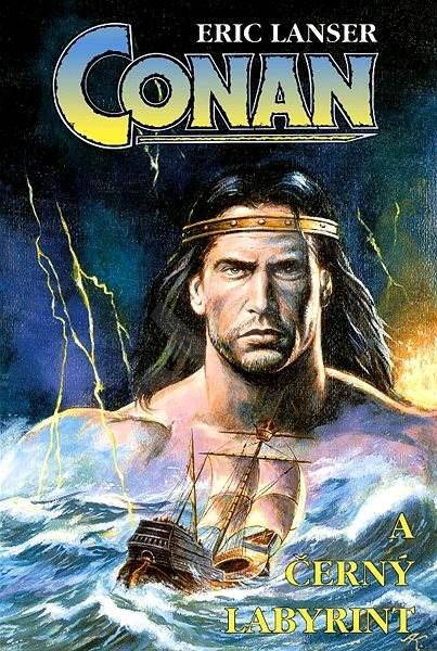 Conan a černý labyrint - Eric Lanser