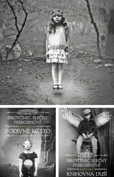 Fantasy trilogie Sirotčinec slečny Peregrinové za výhodnou cenu - Ransom Riggs