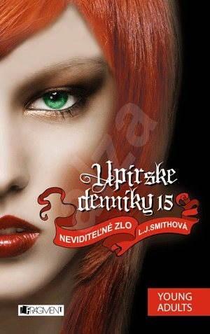 Upírske denníky 15 – Neviditeľné zlo (SK) - Marína Gálisová