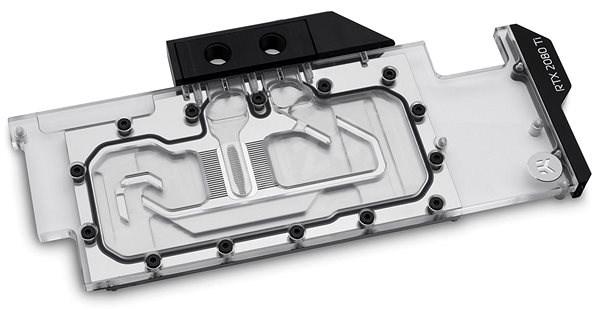 EK Water Blocks EK-Vector RTX RE Ti RGB - Nikl Plexi - Vodní blok pro VGA