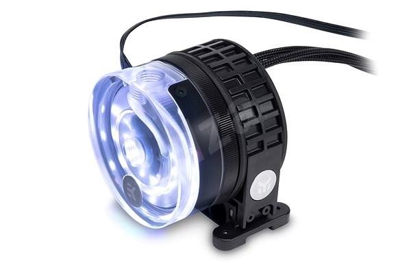 EK Water Blocks EK-XTOP Revo D5 RGB PWM - Plexi (incl. sleeved pump) - Pumpa vodního chlazení