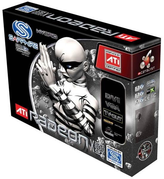 ATI (Sapphire) Radeon X800 GT, 128 MB DDR, VGA/DVI, PCIe x16 - Grafická karta