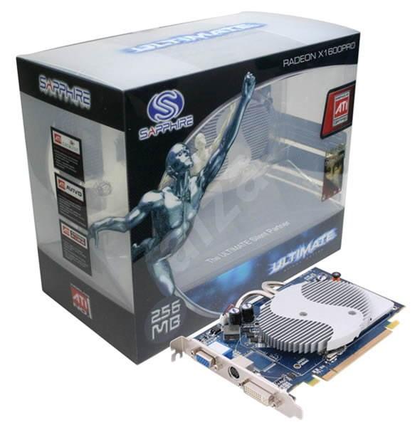ATI (Sapphire) Radeon X1600PRO Ultimate PCI Express - Grafická karta