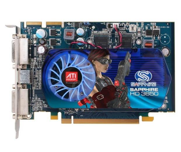 SAPPHIRE HD 3650, 512MB DDR3 - Grafická karta