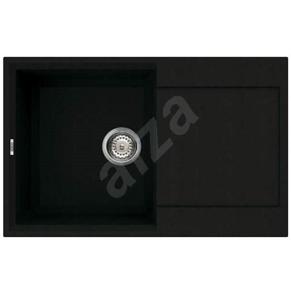 ELLECI EASY 300 Full black/Granitek - Granitový dřez