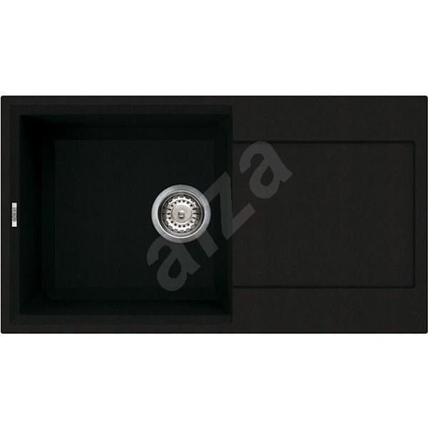 ELLECI EASY 290 G40 Full Black - Granitový dřez
