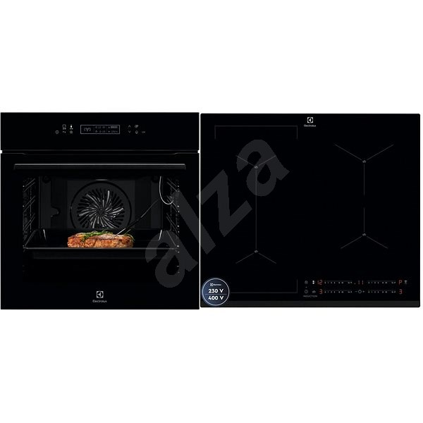ELECTROLUX 800 SENSE AssistedCooking KOE8P81Z + ELECTROLUX  700 SENSE SenseBoil EIS62449 - Set trouba a varná deska
