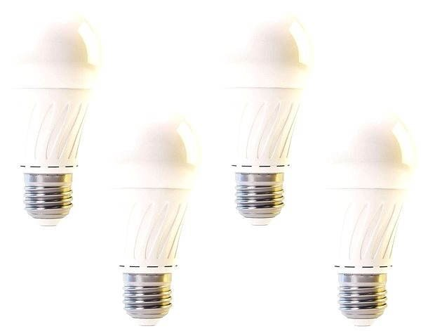 EMOS A60 LED 300 CLASSIC 12W E27 WW 4ks - LED žárovka