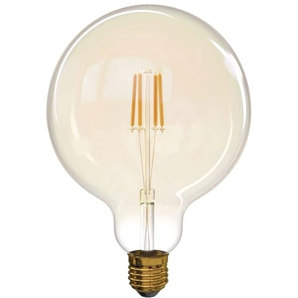 EMOS LED Vintage G125 4W E27 - LED žárovka