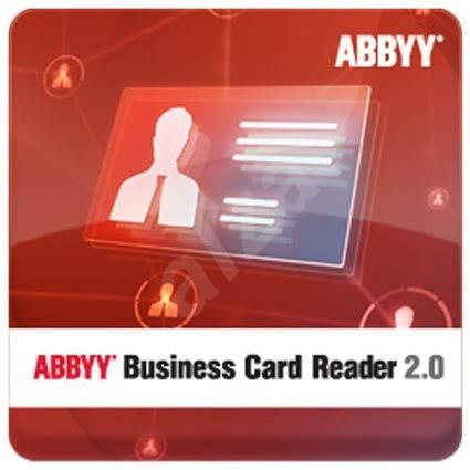 ABBYY Business Card Reader 2.0 for Windows (elektronická licence) - Kancelářský software